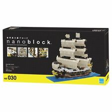 "Kawada Nanoblock - Sailing Ship ""Deluxe Edition"" (NB-030)"