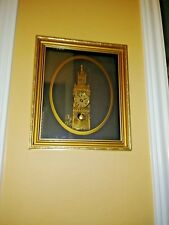 Big Ben Framed Art Deco Clock Hand Made in England With Clock & Watch Parts