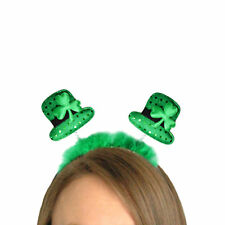 St Patricks Day - Party Dress Up - Green Hat Head Bopper 00241