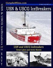 5-films Navy ICEBREAKERS Mackinaw Healy USCG WW2 DVD