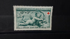 Timbres France 12f+3f Bassin de Diane Croix Rouge 1952