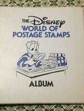The Disney world of postage stamps album e francobolli