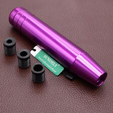 Aluminum Gear Shift Shifter Knob For Manual Transmission Stick Purple 180mm