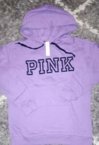 VS pink  campus hoodie brand new size small orchid logo