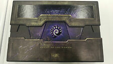 STARCRAFT II 2 heart of swarm collector's edition box and mause mat only