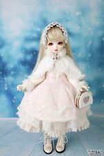 1/4 Bjd Msd/Luts Bdf dress - Luts Bdf snow dress set (pink)