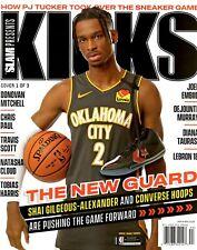 Slam Magazine KICKS 2020 Sneakers Cover 1 Oklahoma City SHAI GILGEOUS-ALEXANDER