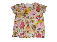 H & M tolles T-Shirt Gr. 86 bunt mit niedlichen Tier Motiven !