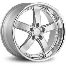 """20"""" Vossen VVS084 Silver 20x10.5 wheels for BMW 72.56 VVS 084 5X120"""