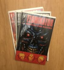 Terminator Hunters And Killers 1 2 3 Dark Horse 1992 Set Run Lot 1-3 VF/NM