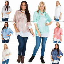Collared Floral 100% Cotton Tops & Blouses for Women