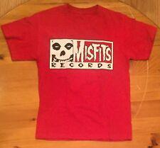 vtg Vintage Misfits Records T Shirt 2004 HI FI Scary-O-Phonic Sound Cinder Block