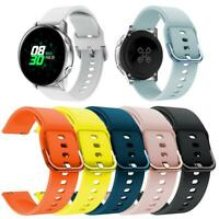 For Samsung Galaxy Watch Active 20mm Wristband Replacement Silicone Strap Band