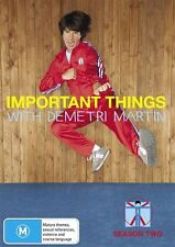 Important Things - With Demetri Martin : Season 2 (DVD, 2011)-REGION 4