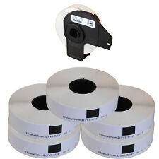 5+1 ROLLS DK11203 DK 11203 BROTHER COMPATIBLE FILE FOLDER LABELS 17x87mm