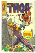 Thor #140 The Growing Man! Marvel Comic Book ~ Fn
