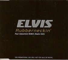 "ELVIS PRESLEY - CD SINGLE PROMO ""RUBBERNECKIN'"""