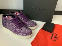 Royaums NEW Girls Sneakers Trainers Marion Flash Mauve Purple Size Eu38 Uk 4
