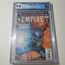 Star Wars Empire 7 CGC 9.8 White Pages Boba Fett Comic Dark Horse 3/03 HOT 🔥