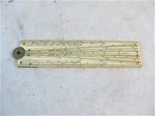 12 INCH SINGLE FOLD RULER BY W & S JONES NO 30 HOLBORN, LONDON C1890'S