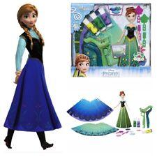 PlayDoh DohVinci Frozen Princesa Anna diseñar su propio conjunto de Moda Vestido Falda