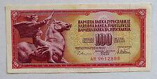 ANCIEN BILLET DE BANQUE 100 DINARA Type 1978 / YOUGOSLAVIE / NEUF
