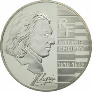 [#462474] Monnaie, France, 1-1/2 Euro, Chopin, 2005, FDC, Argent, KM:2027