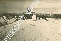 Montblanc - Gipfel mit dem Observatorium  - um 1910                Y 37-5