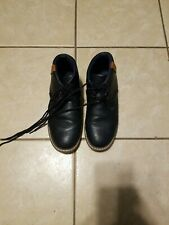 Boys Steve Harvey Navy Blue Boots Size 5 Dress Shoes Winter Warm, School Uniform