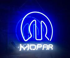 """Mopar"" Auto Sport Racing Shop Neon Sign Man Cave Light Room Decor Artwork"