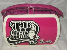 "BARBIE FASHION FAB ALL THE TIME PINK MAKE UP CASE WITH MIRROR 8.5"" H X 11"" W"
