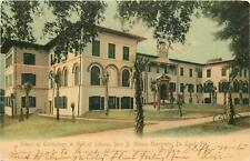 Florida, FL, De Land, School of Technology Stetson Univ UDB PM 1911 Postcard