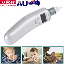 Newborn Baby Nasal Aspirator Electric Nose Cleaner Safe Hygienic Snot Sucker AU