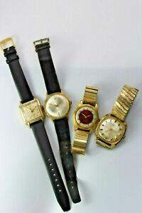 Konvolut Armbanduhren Uhren 17 Jewels Rubis Dugena Osco Adora Amann
