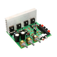 DX-206 DX-0602 2.0 Stereo High Power DIY Speaker Amplifier Board 4558 OP AMP