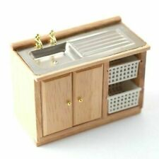 1/12 Streets Ahead Dolls House Kitchen Sink With Baskets DF937