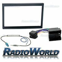 Fiat Scudo 2007 > Stereo Radio Fitting Kit Fascia Panel Adapter Double Din