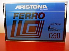 CASSETTE TAPE BLANK - 1 x ARISTONA FERRO C-90 LOW NOISE made in Holland PHILIPS