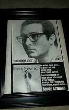 Randy Newman The Beehive State Rare Original Promo Poster Ad Framed!