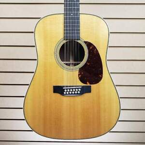 Martin D12-28 12-String Acoustic Guitar Natural Gloss w/OHSC + FREE Shipping