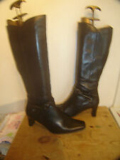 Clarks Women's 100% Leather Slim Knee High Boots