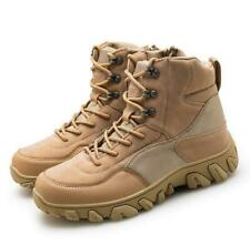 Outdoor Desert Boots Mens Tactical Military camouflage Hiking Climbing Shoes New