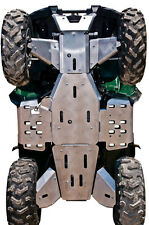 YAMAHA GRIZZLY 700-10-PIECE COMPLETE ALUMINUM SKID PLATE SET,2014-2015