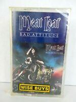 Vintage NEW Meat Loaf Bad Attitude Cassette Tape Sealed Hard Rock