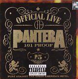 PANTERA - Official live : 101 proof - CD Album