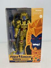 Power Rangers Goldar Hasbro Lightning Collection Gamestop Exclusive