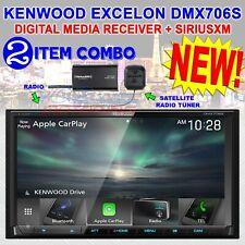 "KENWOOD 6.95"" DIGITAL MEDIA RECEIVER CARPLAY & ANDROID AUTO / SIRIUSXM DMX706S"
