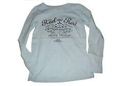 H & M tolles Langarm Shirt Gr. 110 / 116 hellblau mit Schriftzugdruck !!