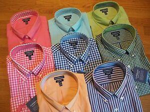 NWT $45. MSRP Mens Croft & Barrow Easy Care Classic Fit Cotton Blend Dress Shirt