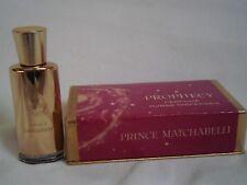 Miniature ancienne perfume rare   PROPHECY de PRINCE MATCHABELLI  avec boîte